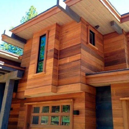 Фасадная доска из канадского кедра